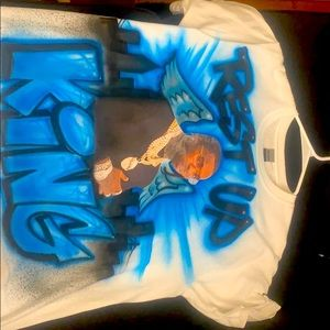 Customize shirts memorial pop smoke
